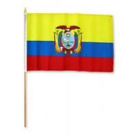 02425 ECUADO HAND FLAG