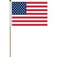 02420 USA HAND FLAG