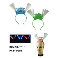 2150-4,light up new year hairbands