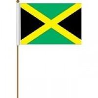02423 JAMAICA HAND FLAG