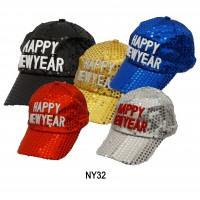 02186,light up new year hat