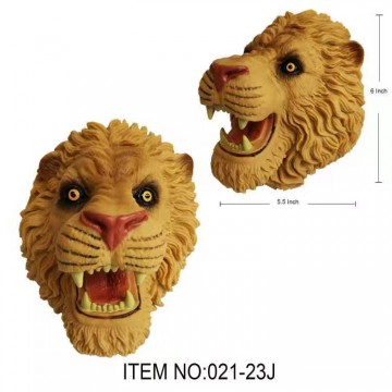 021-23J  LION HAND PUPPET TOY