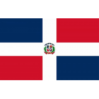02430 DOMINICAN FLAG