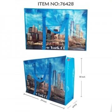 NEW YORK PRINTED TOTE BAG 76428