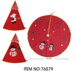 76579 CHRISTMAS TREE SKIRT